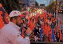 UGT gaúcha denuncia as reformas trabalhista e previdenciária, em ato no dia 30 de junho