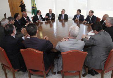 Presidente Nacional e Dirigentes da UGT se reúnem com Temer e ministros em Brasília para discutir nova legislação trabalhista
