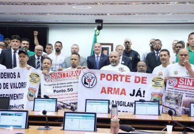 Presidente da UGT-RS discute segurança pública em Brasília