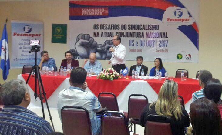 Seminário discute os desafios do sindicalismo no Brasil