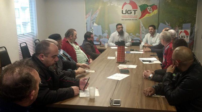 UGT gaúcha agenda Plenária Estadual e debate eleições gerais