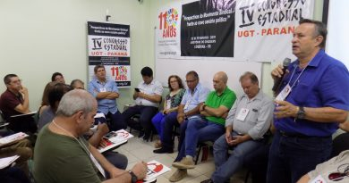 Congresso da UGT-PR debate perspectivas do sindicalismo