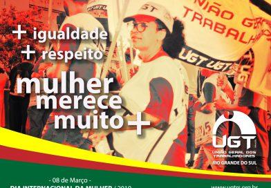 08 de março – Dia Internacional da Mulher