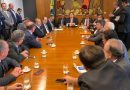 Presidente nacional da UGT se encontra com Rodrigo Maia