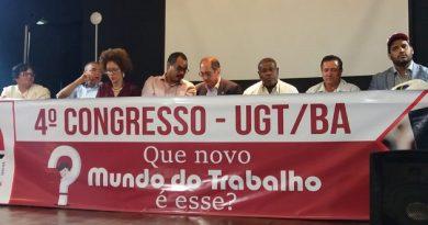 UGT/BA realiza 4º Congresso discutindo as mudanças na relação de trabalho