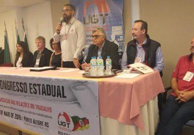 UGT gaúcha renova diretoria em congresso representativo