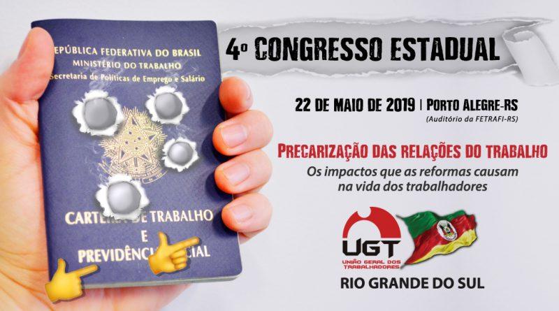 4º CONGRESSO ESTADUAL ORDINÁRIO