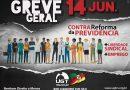 GREVE GERAL – 14 de JUNHO