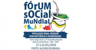 Fórum Social Mundial 2020 – População Idosa, PCDs e Diversidades