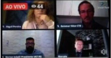 """Em """"Live"""", lideranças debatem impacto das MPs nos direitos trabalhistas"""