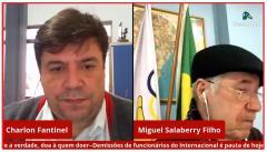 Em Live, Colorados debatem demissões no Inter com Secefergs