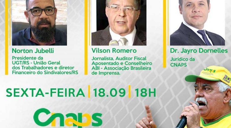 LIVE DA SEMANA do Movimento dos Aposentados do Brasil