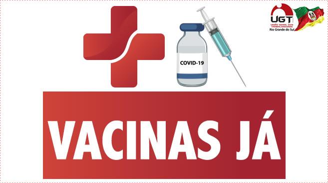 Vacinas já!